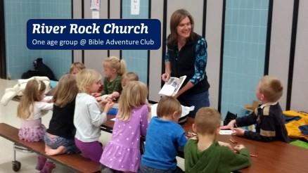 River Rock Church Adventure Club - One Age Group