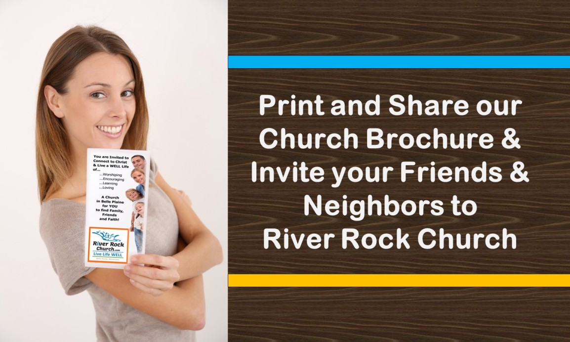 Print and Share River RockBrochure