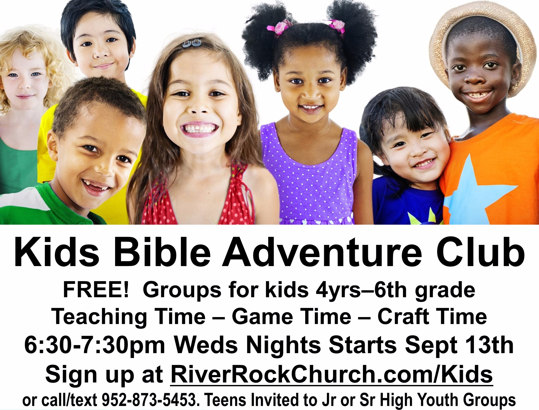 Sign Up for Kids Bible Adventure Club