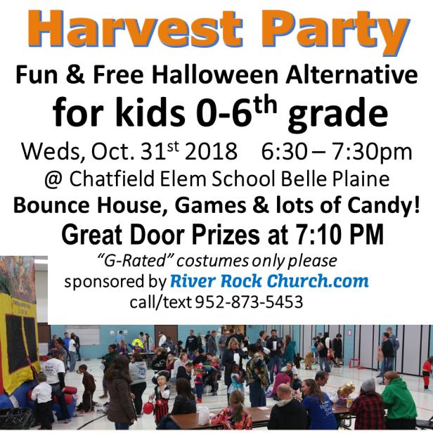 Instagram Harvest Party 2018