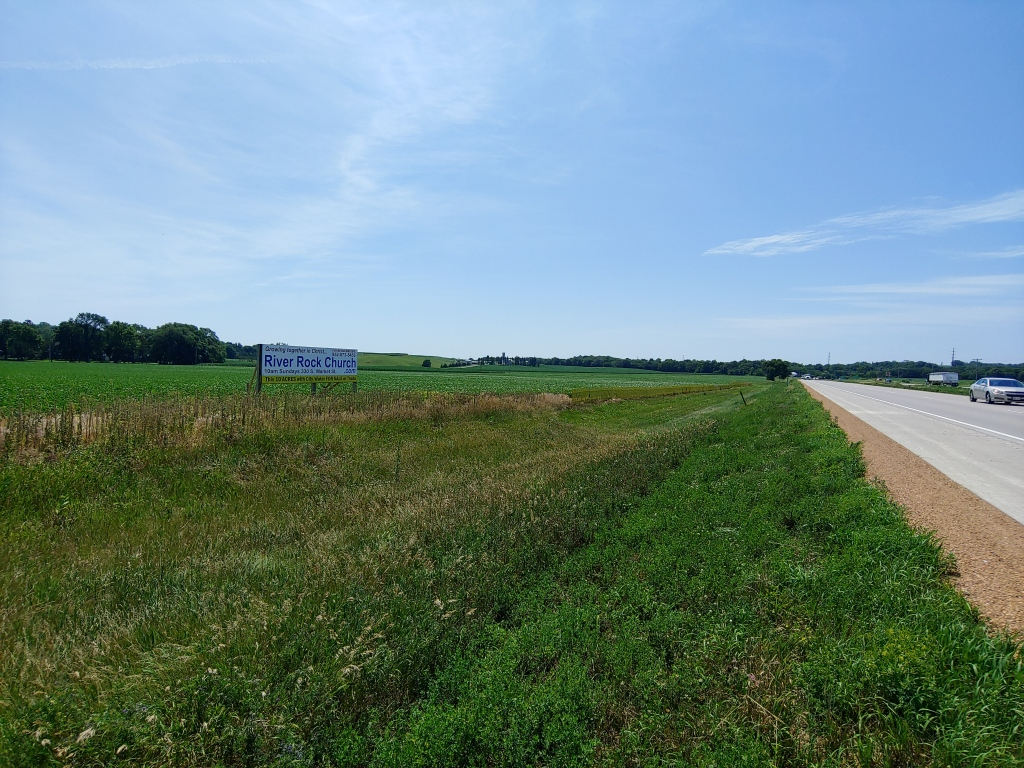 Hwy 169 Frontage looking West